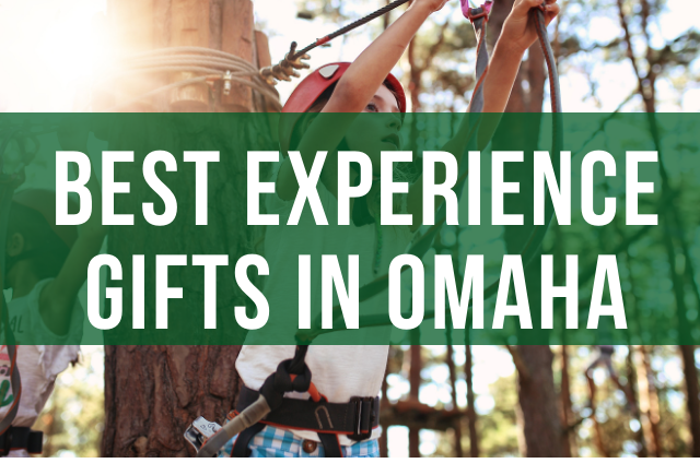 Experience Gifts and Gift Ideas in Omaha- UPDATED Mar. 2021