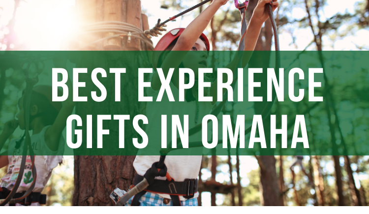 Experience Gifts and Gift Ideas in Omaha- UPDATED Jan. 2021