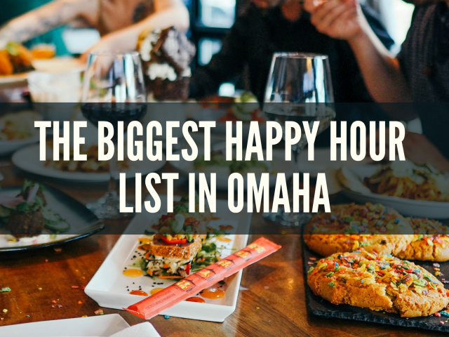 The Biggest List of Happy Hours in Omaha (230+)