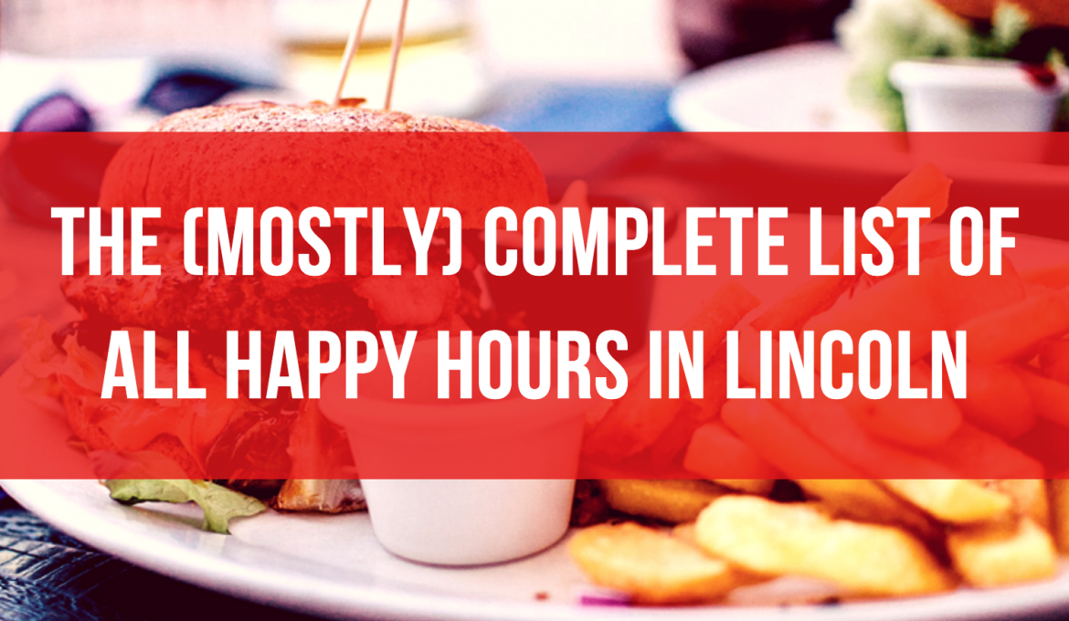 happy hours lincoln