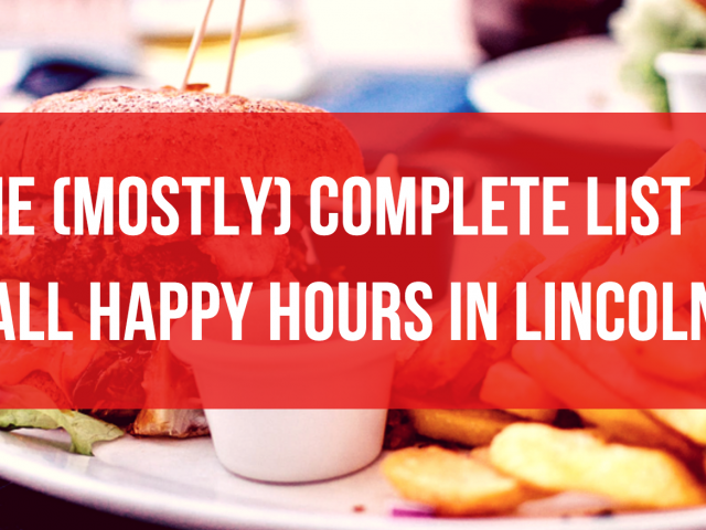 The Biggest List of Happy Hours in Lincoln, NE
